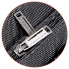 Large Zippers with Metal Pulls
