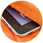 Felt-Lined iPad/Kindle/Tablet Pocket