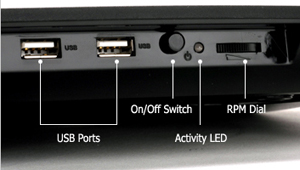 Ports in the rear