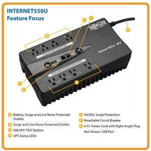 INTERNET550U Feature Focus