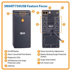 SMART750USB Feature Focus
