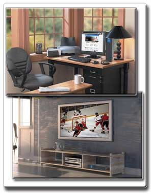 Ideal for Protection for Home or Office PCs and Home Theaters