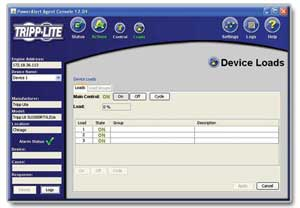 Included PowerAlert Software