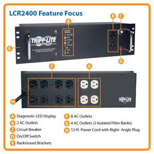 LCR2400 Feature Focus