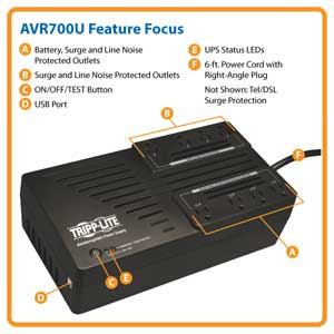 AVR700U Feature Focus