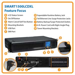 SMART1500LCDXL Feature Focus