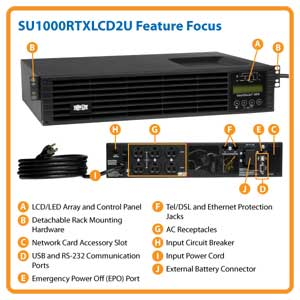 SU1000RTXLCD2U Feature Focus