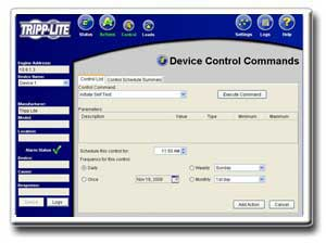 USB/DB9 Ports, SNMP Capability and Included PowerAlert Software