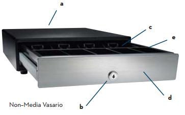 APG Vasario 1616 Series Cash Drawer