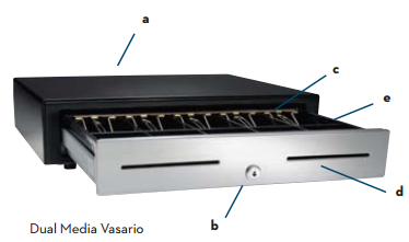 APG Vasario 1616 Series Cash Drawer