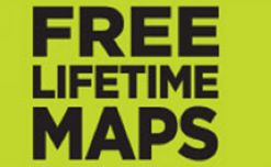 Enjoy FREE Lifetime Map Updates