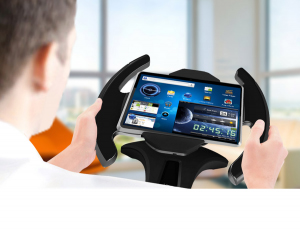 iPad Racing Wheel Stand