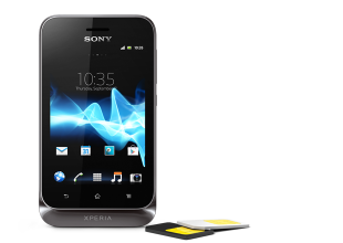 Xperia tipo dual is made for ease of use with dual SIM cards