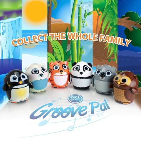 GOgroove 3.5mm Groove Pal Koala Portable Rechargeable ...