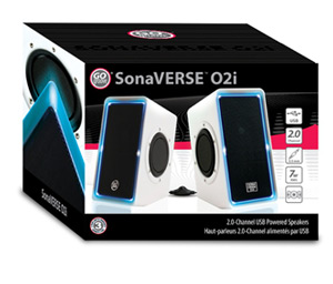 GOgroove USB Computer Speakers