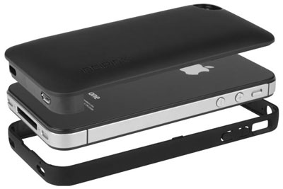 iPhone 4 4S offGRID™ PRO Backup Battery - Low Profile Design