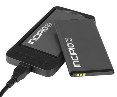 iPhone 4 4S offGRID™ PRO Backup Battery - Two Batteries Provide 3200mAh Total