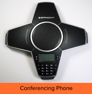 Aura Professional™ Conference Phone Affordable, professional conferencing anywhere in the world