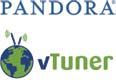 Pandora and vTuner