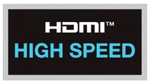 HDMI High Speed Compliant