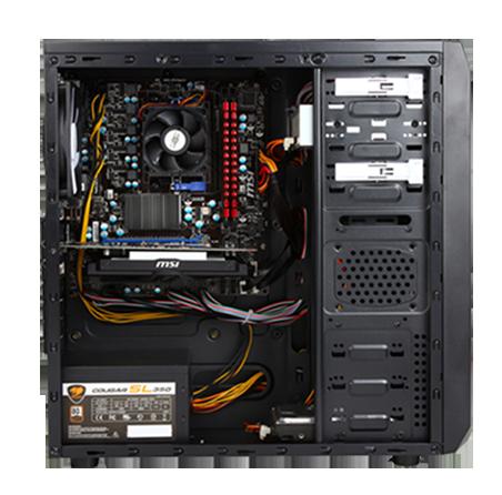 ABS Dreadnought ALA001 Desktop PC AMD FX-Series FX-6300 (3.50GHz) 8GB DDR3 1TB HDD GTX 750 Ti ...