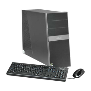 Desktop with Keyboard and mouse