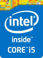 Intel Core i5 Badge