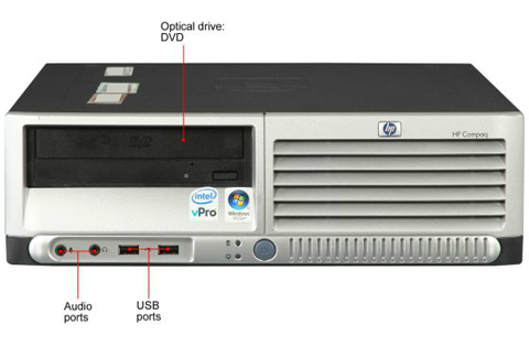 Hp compaq dc7700 small form factor pc ethernet