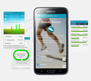 Samsung S Health Activity Tracker