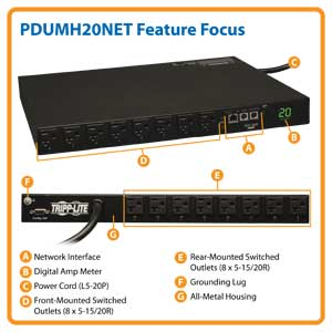 PDUMH20NET Feature Focus