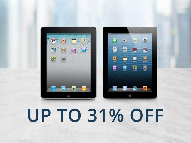 Refurb Apple iPad - From $64.99 Shipped