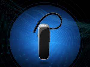Refurbished: Jabra Talk 25 Gray Black Bluetooth Mono Headset