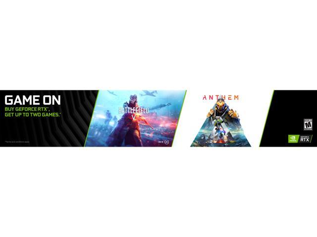 NVIDIA Gift - Get Anthem, Battlefield V - Newegg com