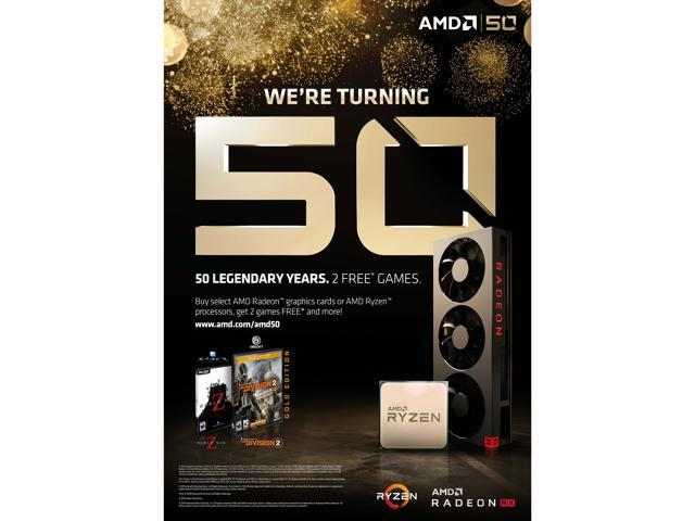 AMD 2 Games for 50TH - Newegg com