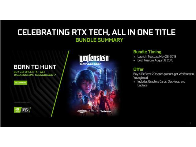 NVIDIA Gift - Wolfenstein: Youngblood