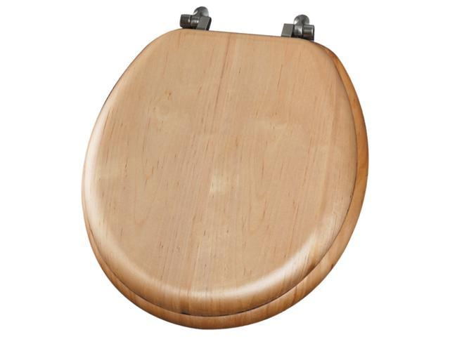 Fantastic Mayfair Bemis 9601Ni 418 Maple Wood Round Toilet Seat Gmtry Best Dining Table And Chair Ideas Images Gmtryco