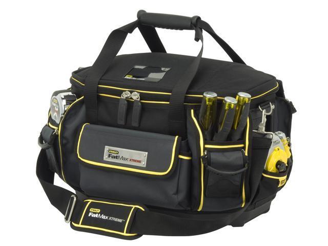 Stanley Fatmax Xtreme 501300M FatMax® Xtreme™ Round Top Tool Bag -  Newegg com