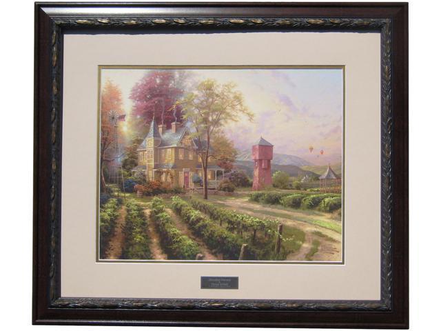Thomas Kinkade Abundant Harvest Library Edition Framed Print 30