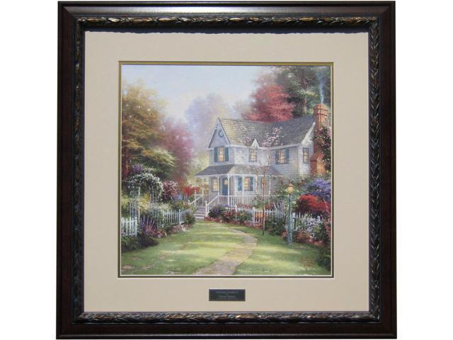 Ordinaire Thomas Kinkade Victorian Garden II Library Edition Framed Print 28