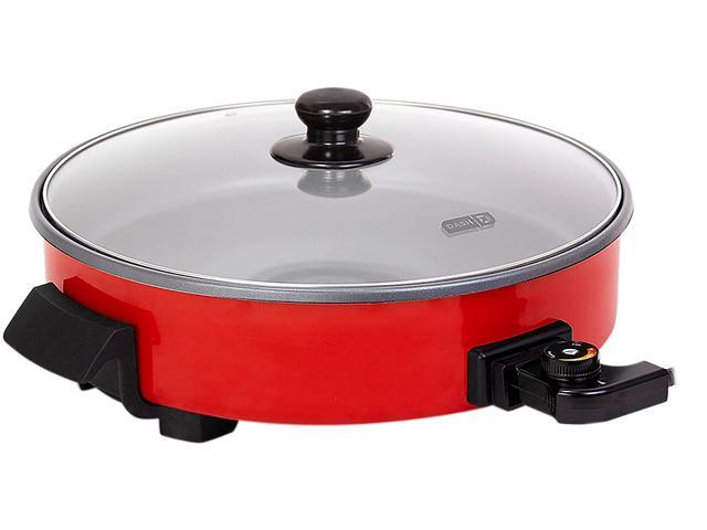 Dash 14 Quot Extra Large Electric Nonstick Red Skillet