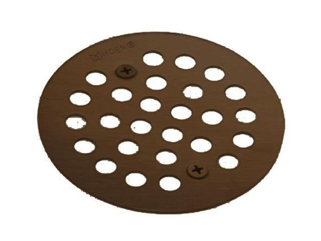 Moen 101664ORB Tub and Shower Drain Covers in Oil Rubbed Bronze ...