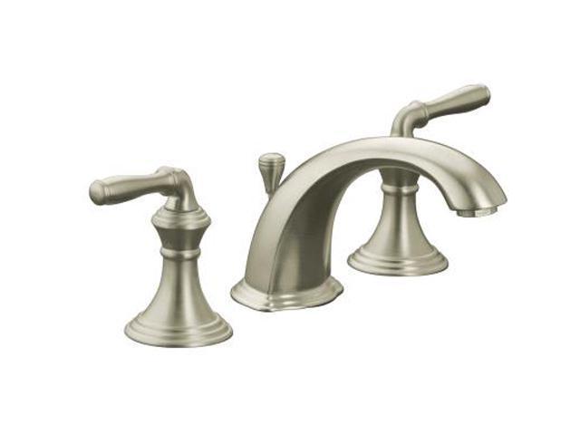 Kohler K 394 4 Bn 8 Widespread Devonshire Lavatory Faucet Brushed