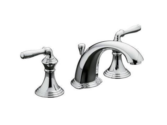 Kohler K 394 4 Cp 8 Widespread Devonshire Lavatory Faucet Polished
