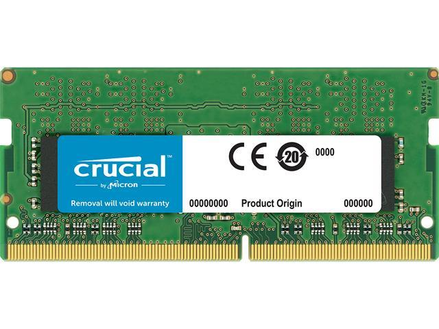 Crucial 8gb Single Ddr4 2400 Mt S Pc4 19200 Dr X8 Sodimm 260 Pin