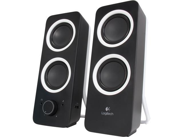 8f4f6945959 Logitech Multimedia Speakers Z200 with Stereo Sound for Multiple Devices,  Black