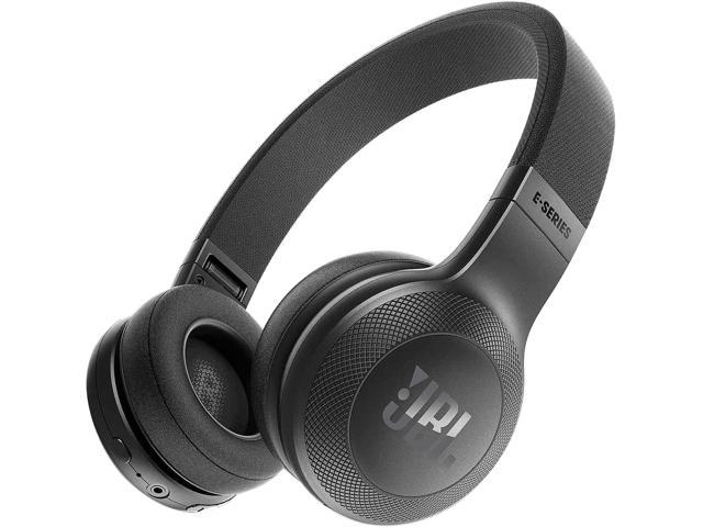 37c78c7c756 JBL E45BT Wireless On-Ear Headphones with One-Button Remote and Mic (Black