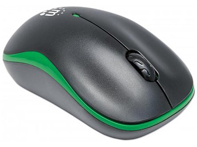 Manhattan - Success Wireless Optical Mouse / USB, Three Buttons with Scroll  Wheel, 1000 dpi, Green/Black - Newegg com