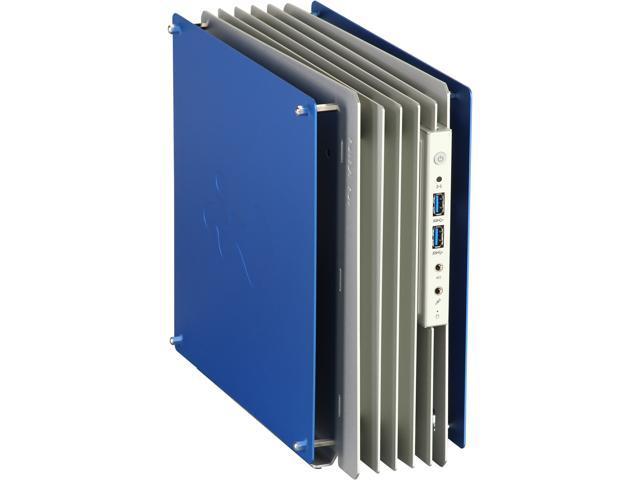 IN WIN H-Frame Mini Blue Blue Aluminum Mini-ITX Computer Case 180W ...