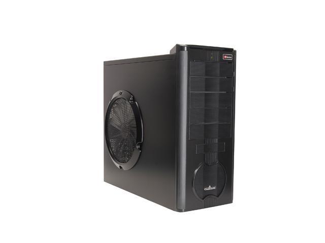 ENERMAX Chakra ECA3052B Black SECC ATX Mid Tower Case Front I/O Interface  w/1 eSata, 2 USB2 0 and Audio I/O Ports - Newegg com
