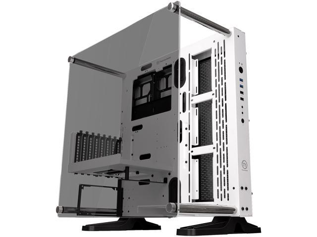 Thermaltake Core P3 TG Snow ATX Open Frame Panoramic Viewing Tt LCS ...